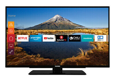 Telefunken XF39G511 LED Fernseher 39 Zoll Full HD Triple Tuner Smart TV WLAN CI
