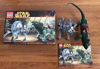 Lego Star Wars General Grievous Chase 7255 100% Complete w/ Box & Manual Nice!