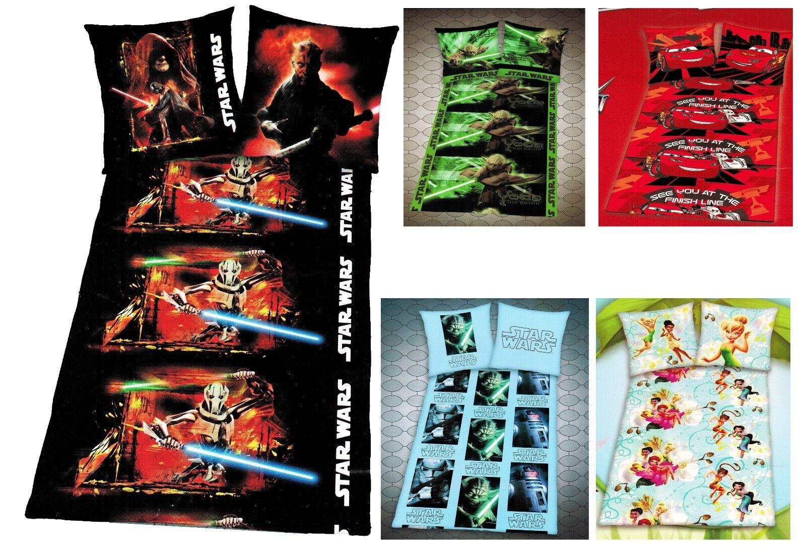 Herding Star Wars Bettwäsche Set Spiderman Bettgarnitur Bettwaren Baumwolle Öko