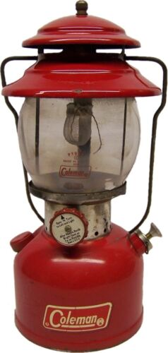 Good Looking COLEMAN 200A Single Mantle Lantern - August, 1971