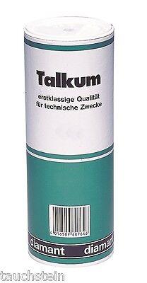 Talkum für Arm-Halsmanschetten Gummi Latex Neopren 450g Streuer nicht fettend