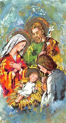 "Santini Heiligenbild Gebetbild Holycard"" H3771"" heilige Familie"