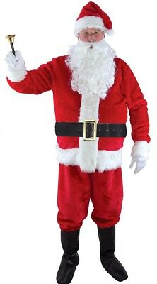 Costume Man SANTA CLAUS luxe M / L Adult NEW Cheap - Cheap Santa Claus Costumes