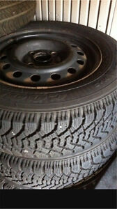 ^** GOODYEAR NORDIC SNOW TIRES LIKE NEW!