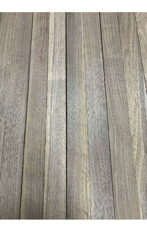 "Beautiful! 12 Boards Of  Black Walnut Lumber Dried Size: 3/4""x 2""x 16"" DIY Wood"