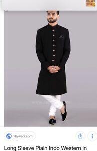 Indian pakistani Mens outfit jodhpuri bandgala Kurti salwar