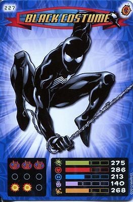 Heroes And Villains Costume (Spiderman Heroes And Villains Card #227 Black)