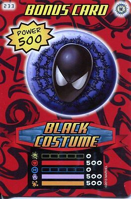 Heroes And Villains Costume (Spiderman Heroes And Villains Card #233 Black)
