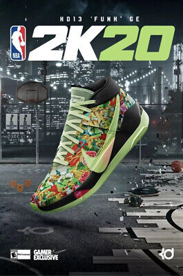 Nike KD 13 Funk 2K Gamer Exclusive (Any Size)
