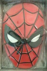 Marvel Spider-man Face Wall Wobble Clock Swings Back & Forth and is the Pendulum
