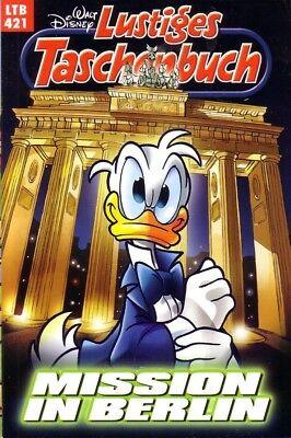 Lustiges Taschenbuch LTB | Band Nr. 421 - Mission in Berlin | Walt Disney | Neu