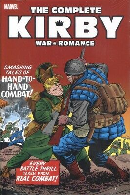 COMPLETE JAKE KIRBY WAR AND ROMANCE HC / WAR VARIANT COVER SEALED