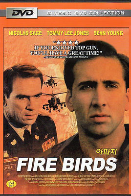 Fire Birds  1990  Sealed Dvd Nicolas Cage