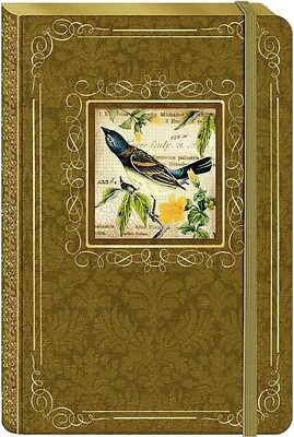 Botanical Bird Bungee Hard Cover Journal by Punch Studio