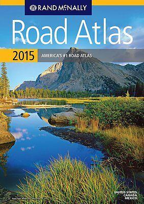 2015 Rand McNally USA Road Atlas (includes Mexico & Canada) Paperback