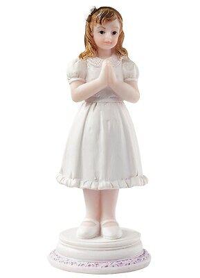 Kommunionskind Tortenfigur Kommunion Tortenaufsatz Konfirmation  Mädchen Kind