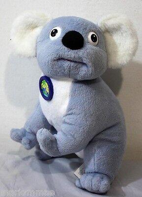 "FISHER PRICE 2007 KOALA BEAR TALKING PLUSH TOY 10"" Tall ANIMAL RESCUE MATTEL EUC"