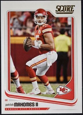 2018 Score Football Base Singles #1-165 (Pick Your Cards)