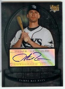 2008 Bowman Sterling Justin Ruggiano Auto RC Autograph Miami Marlins