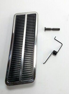 Gas Pedal Set - Accelerator Pad, Chrome Trim, Pin, & Clip For 1968-81 GM