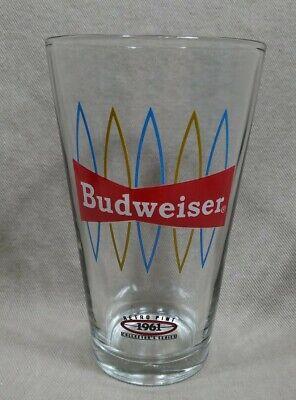 BUDWEISER 1961 RETRO Beer Pint Glass