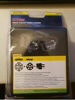 NEW 55664 Curt T Connector for SaVana Ford Ranger GMC Sierra 1500 Truck 2500 HD