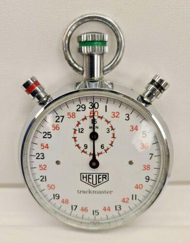 Vintage Heuer TRACKMASTER stopwatch