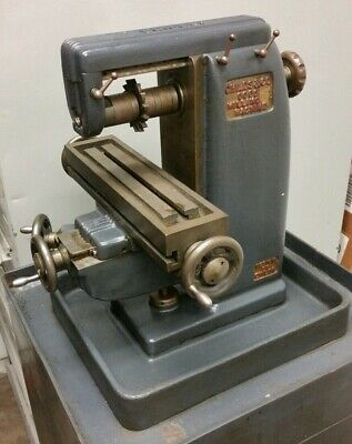 Vintage Childs 0000 Jewelers Machinist Horizontal Mill Miller Milling Machine