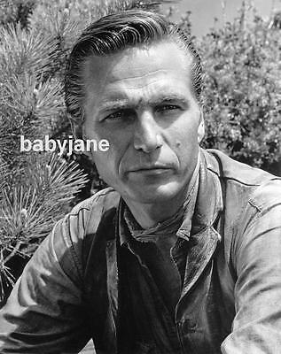 001 ERIC FLEMING RAWHIDE STAR HANDSOME PORTRAIT PHOTO