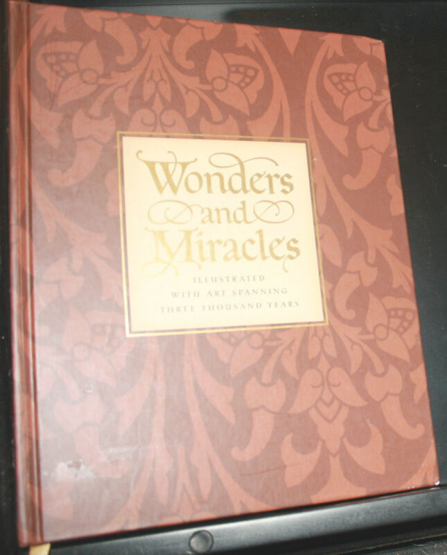 Wonders and Miracles : A Passover Companion, Hardcover, Ex-School Book - LikeNEW