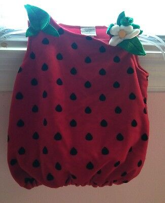 Koala Kids Toys R Us 3/6 Month Strawberry Costume So Cute!!