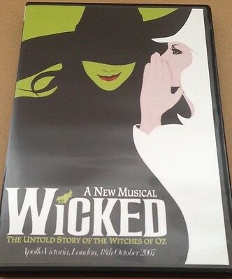 WICKED - THE MUSICAL - WEST END, LONDON, UK 2007 [DVD]