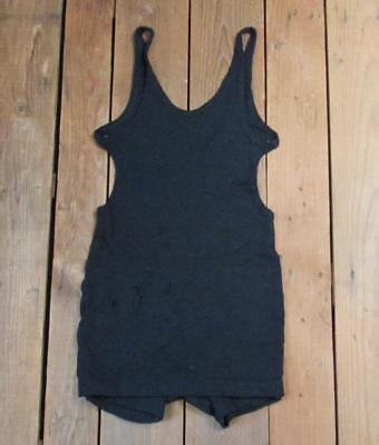 Vintage Antique Superior Togs Knit Wool Bathing Suit Womens Swimsuit Victorian