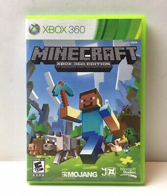 Minecraft Xbox 360 Edition (Microsoft, Mojang) Tested & Working FREE SHIPPING