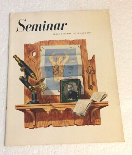 1949 Sharp & Dohme Seminar Quarterly (Liver / Nov 1949) F. Netter Illustrated