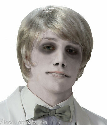 FORUM GHOSTLY GENTLEMAN WIG ZOMBIE ADULT HALLOWEEN COSTUME ACCESSORY - Ghostly Gentleman Halloween Costume