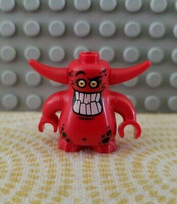 LEGO Nexo Knights Minifigure: Red Scurrier w/ 10 Teeth (#70323 Jestro's Volcano)