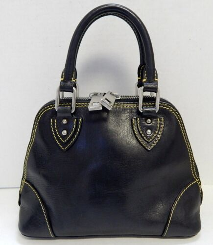 Marc Jacobs Black Leather Small Satchel Bag