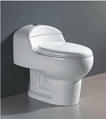 Swiss Madison Château One Piece Elongated Toilet Dual Flush