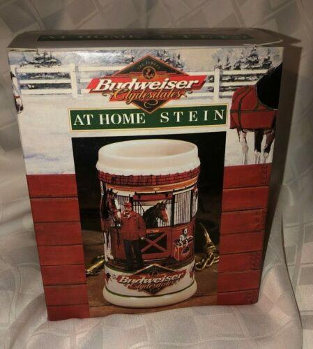 Budweiser Clydesdales at Home Stein 1999 NIB