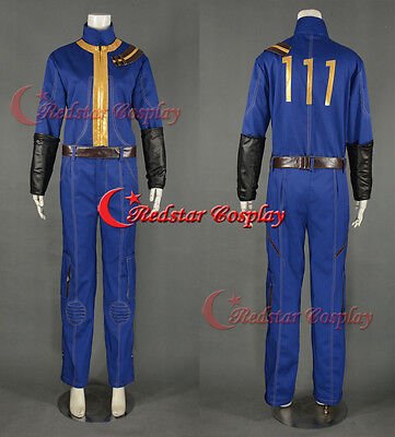 Fallout Vault Cosplay Jumpsuit with 111 Cosplay Costume](Vault Jumpsuit Costume)