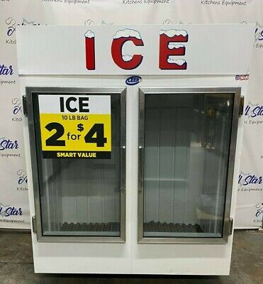 Leer 64 Indoor Ice Merchandiser