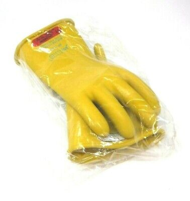 Salisbury Yellow Electrical Gloves Class 0 Size 11 D120 Type 1 E011y11 New