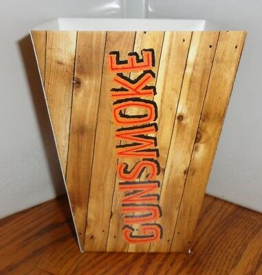 Gunsmoke Popcorn Box. Matt Kitty Chester Doc....free Shipping