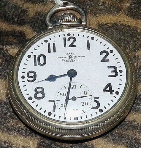 Ball Rail Road Standard POCKET watch