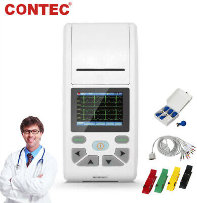 Us Seller Digital Electrocardiograph 12 Channel 12 Lead Ecg Machine Pc Software