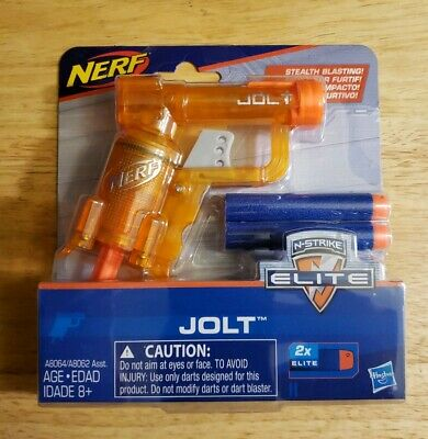 NERF N-Strike Elite Jolt Blaster (Orange) Standard Packaging. Free shipping NEW