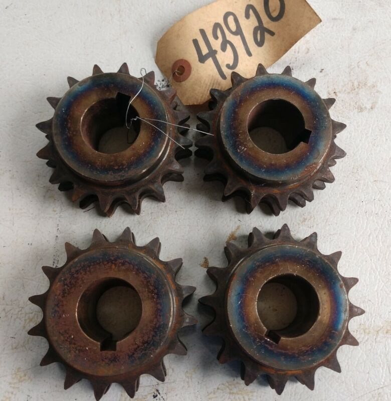 Lot of 4 Double Sprocket 43920 16Tooth