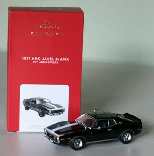 Hallmark 2021 1971 AMC JAVELIN AMX 50th Anniversary Ornament (Ltd Edition) ~ NMB
