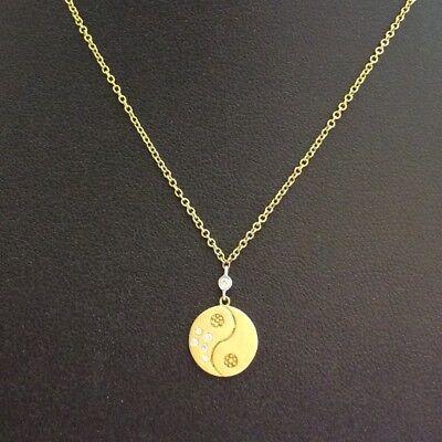 Meira 14K Yellow Gold Diamond Necklace